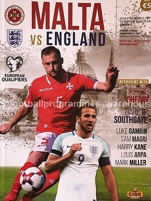 MALTA v England (World Cup 2018 Qualifier) 2017
