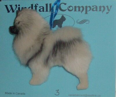 Keeshond Dog Soft Plush Christmas Canine Ornament #3 by WC