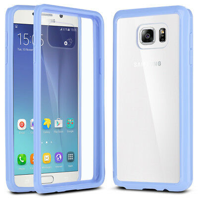 Slim Transparent Crystal Clear Hard TPU Cover For Samsung Galaxy Note 5 Purple