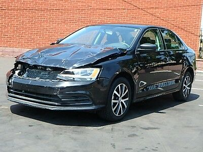 2016 Volkswagen Jetta 1.4T SE 2016 Volkswagen Jetta 1.4T SE Sedan Wrecked Rebuilder Gas Saver Nice Project!!