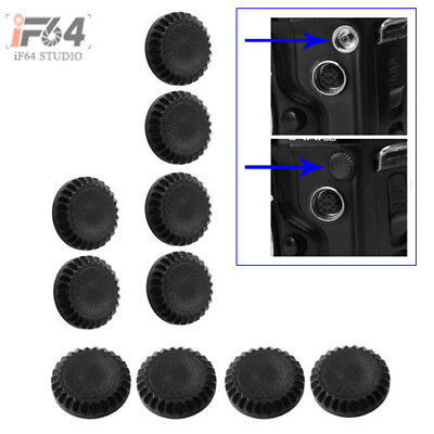 10PCS Flash PC Sync Terminal Cap Cover for Nikon D200 D2X Fuji S3 S5