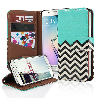 For Samsung Galaxy S6 Edge Luxury Magnetic Flip Cover Stand Wallet Leather Case