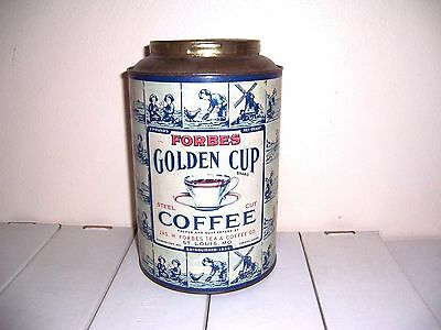 Forbes Golden Cup Coffee Tin
