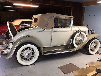 1931 Plymouth PA Convertible Coupe /Cabriolet  1931 Plymouth PA Convertible Coupe/Cabriolet