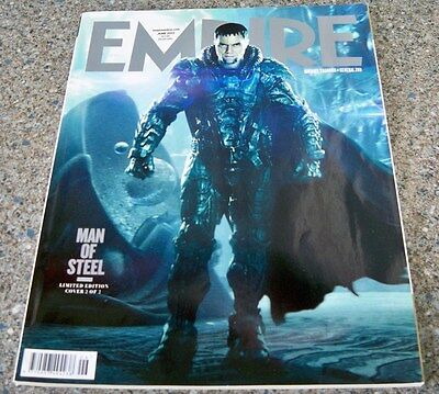 Empire Magazine Man of Steel June 2013-Limited Edition Cover 2 of 2