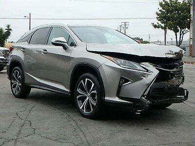 2017 Lexus RX 350 2017 Lexus RX350 Damaged Repairable Clean Title Only 2K Mi Loaded w Options L@@K