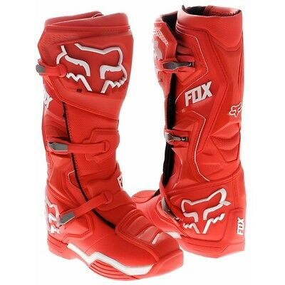 Fox Comp 8 Boot Red