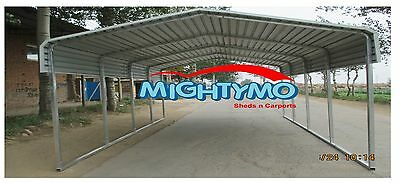 LARGE STEEL Carport, Shelter 6x6M, Yard, Backyard shelters, Portable Carports