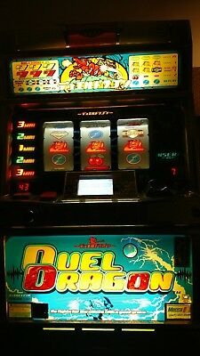 Pachislo Duel Dragon Skill Stop Slot Machine With Toknes