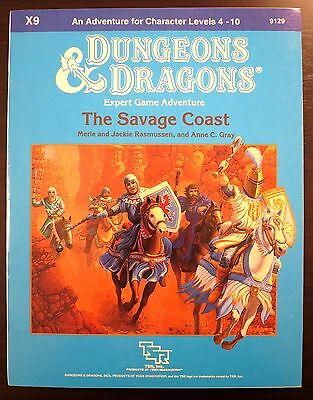 X9 The Savage Coast - Dungeons & Dragons