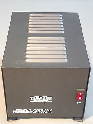 Tripp Lite IS1000 Isolation Transformer 1000W Surge 120V 4 Outlet 6ft Cord
