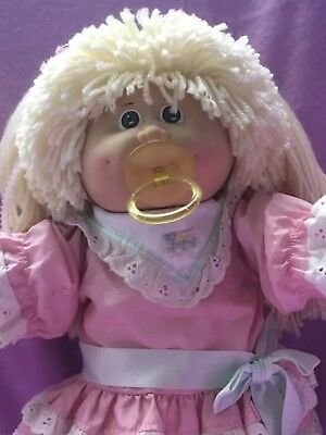 Superminty Vintage Pacifier Cpk Doll With Rare Dress But Dress Is TLC Condition