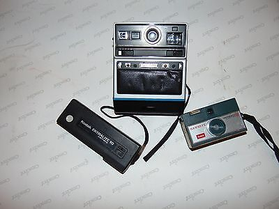 Lot Of 3 Old Vtg Kodak Cameras