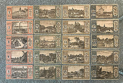 1921 Berlin German Notgeld Set Of 20