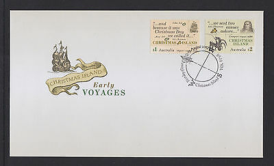 Australia 2017 : Christmas Island Early Voyages, First Day Cover. Mint Condition