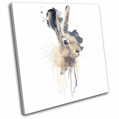 March Hare Cute Rabbit Wall Art Print Pictures Canvas Wall Art Prints Unframed
