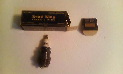 "Vintage Road King Spark Plug NOS with box and washer 7/8"" Std"