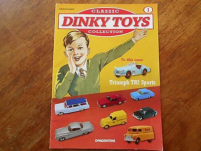 Classic Dinky Toys Collection Magazine No1