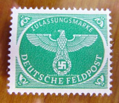 EBS Germany 1944 Military Parcel Post Stamp Feldpost Xmas version Michel 4 MNH**