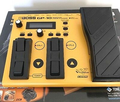 Boss GP-10 GK Guitar Processor and Synth Pedal with GK-3 Divided Pickup