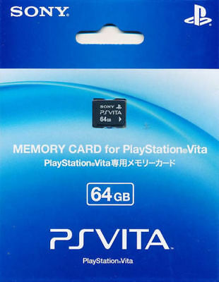 100% Genuine PS Vita 64GB Memory Card PSV Region Free