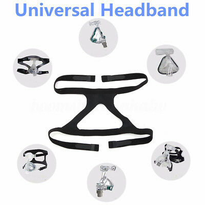 Universal Headgear Face Replacement Ventilator Mask Head Band For CPAP Comfort