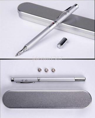 Practical 4 in 1 Laser Pointer Pen Telescopic Ballpoint Pen for Presentation UK
