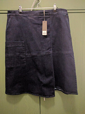 BNWT Sussan Dark Denim Skirt Size 18