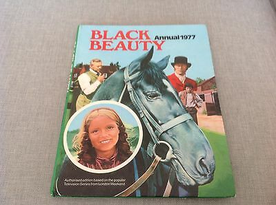 Vintage Black Beauty Annual for 1977 based on the London Weekend TV series