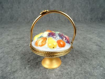 Limoges Fruit Basket