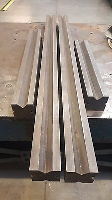 Press Brake bottom tooling 4 way V