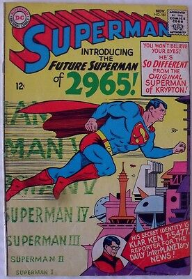"Superman #181 (1965) ""The Superman of 2965!"""