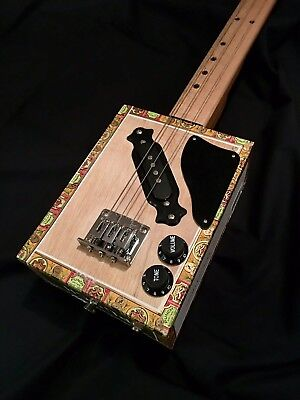 Matt Charnley Cigar Box Guitar By Birdwood Guitars