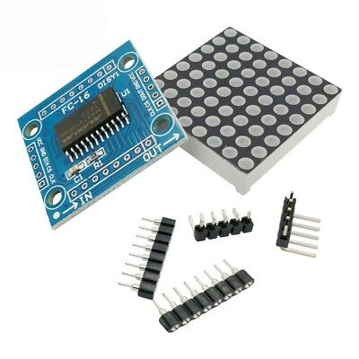 NEW MAX7219 LED 8x8 Dot Matrix Display Module MCU control