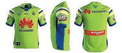 Canberra Raiders NRL 2017 ISC Home Jersey Adults, Kids Sizes! ITP