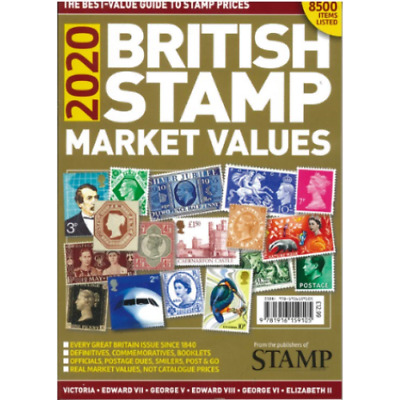 British Stamp Market Values 2018 - The Best Value Guide Book To Stamps Prices