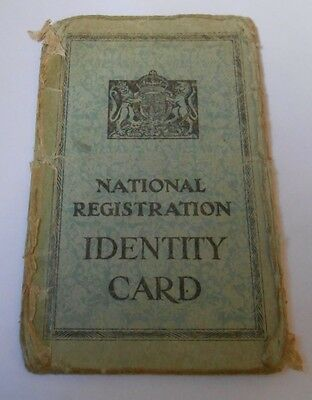 national registration identity card  mobile first aid post female   lytham