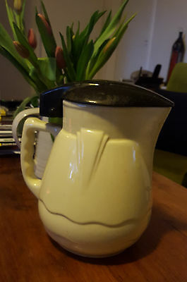 Rare Retro Nilsen Ceramic Electric Jug with different stlye element. Works well