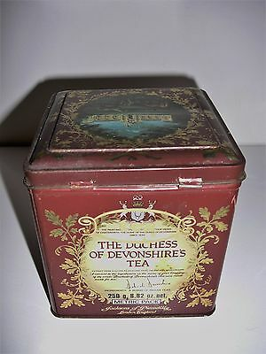 Vintage The Duchess of Devonshire's Tea Tin Chatsworth Jacksons of Piccadilly