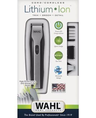 New Wahl Lithium Ion Beard Trimmer Wa9885 012