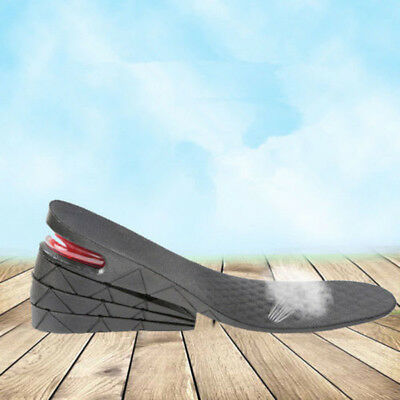 4 Layers Adjustable Height Increase Insole Heel Lifts Gain Altitude Shoe Pad New