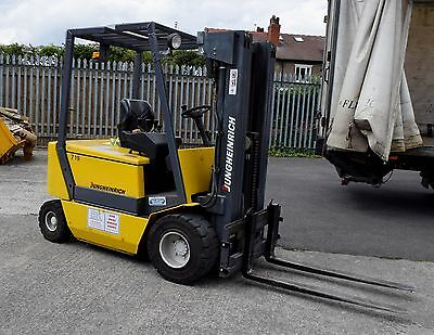 Jungheinrich EFG-V 25 Counterbalance Electric Fork Lift Truck