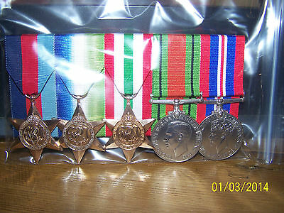 Medal Mounting Service £6 Per Medal Court Mounted Full Miniature Size Rutland