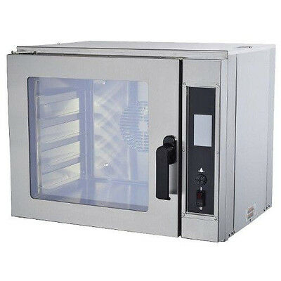 Nu-Vu NCOT5 Electric Countertop Oven with Two Speed Fan - 208 Volts
