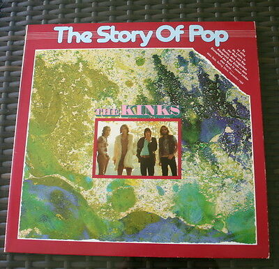 LP The Kinks  The Story of Pop