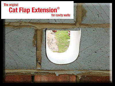 Cat Flap Extension - creating a tunnel / bridge for thick or cavity walls