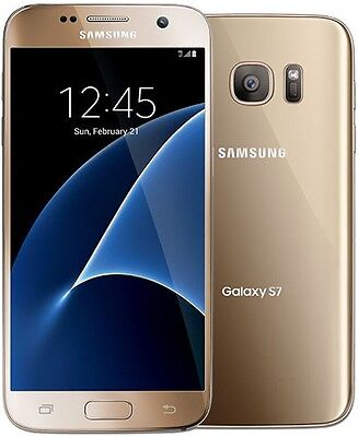 Samsung Galaxy S7 SM-G930T - 32GB - Gold (T-Mobile Unlocked) Smartphone
