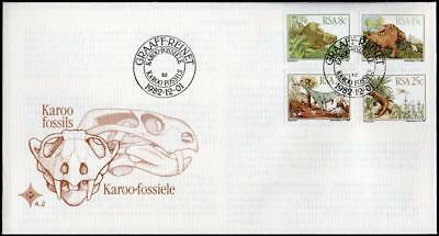 South Africa 1982 Dinosaurs FDC