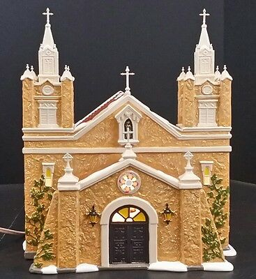 Dept 56 Our Lady of Guadalupe 4020215 Lighted Retired in Box Church
