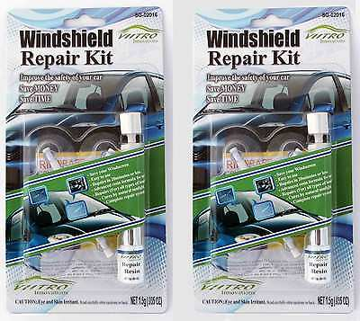 Windshield Repair Kit DIY - VIITRO Innovations- Fast and Easy - Double Kit